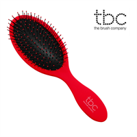 TBC® The Wet/Dry Brush hårborste - Röd