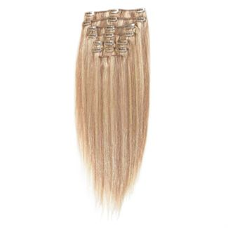 Clip-on Hair Extensions 65 cm #18/613 Blond Mix