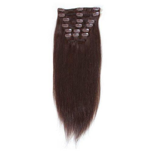 löshår clips äkta hår