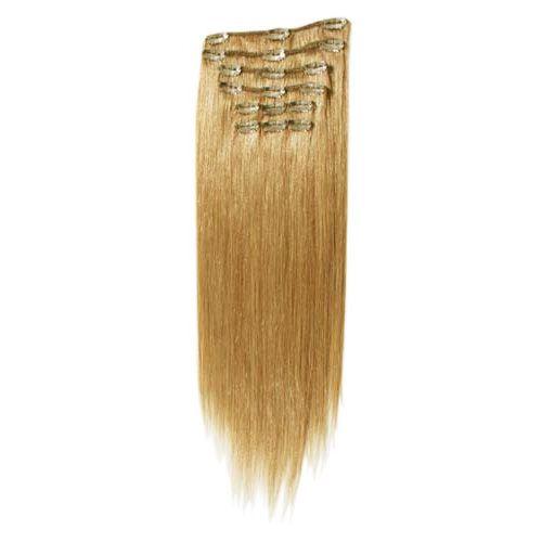 hair extensions clip on 40 cm mellanblond. Black Bedroom Furniture Sets. Home Design Ideas
