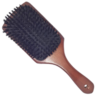 TBC® Paddle Boar Bristle Brush med äkta vildsvinshår