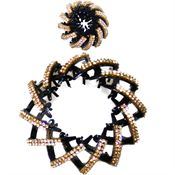 Pony Tail Holder Spiral - Guld