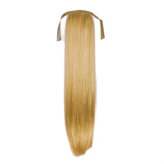 Pony tail extensions syntet Straight Mörkblond 27#