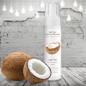 Suntana Spray Tan Coconut Mousse - Light Tan 200ml