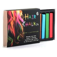 Hair Chalk / Hårkritor (6 st)