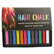 Hair Chalk / Hårkritor (12 st)