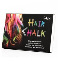 Hair Chalk / Hårkritor (24 st)