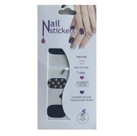 Nail Stickers - Nail Wrap 12 st no. 02