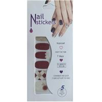 Nail Stickers - Nail Wrap 12 st no. 05