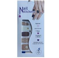 Nail Stickers - Nail Wrap 12 st no. 07