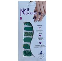 Nail Stickers - Nail Wrap 12 st no. 08