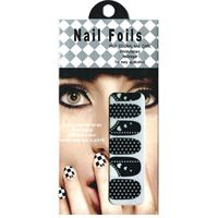 Nail Stickers - Nail Wrap 12 st no. 01