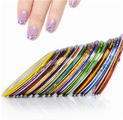 Striping Tejp  - 10st rullar med Nail art Tape