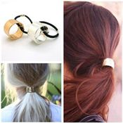 Hair Cuff - Ponytail Holder i metall