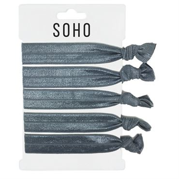 SOHO® Hair Ties no. 04 - Total Silver