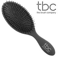 TBC® The Wet/dry Brush hårborste, svart