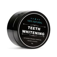 Teeth Whitening Charcoal 100% Naturlig Tandblekning (30 g)