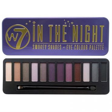 W7 In The Night Eye Palette Ögonskugga