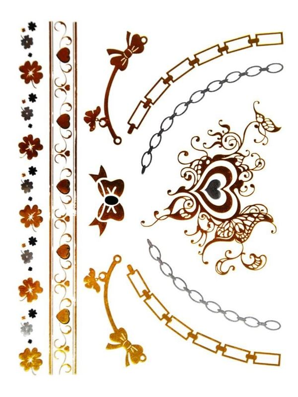 Metallic Flash Tattoo No. 37